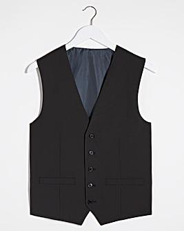 Black Hank Tonic Waistcoat Long