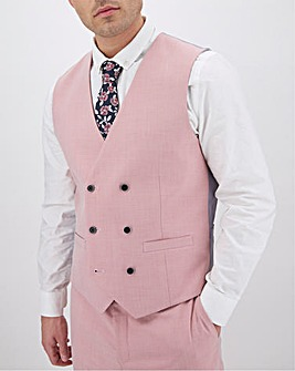 Rose Harry Double Breasted Regular Fit Waistcoat