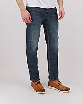 Indigo Wash Premium Straight Fit Jeans