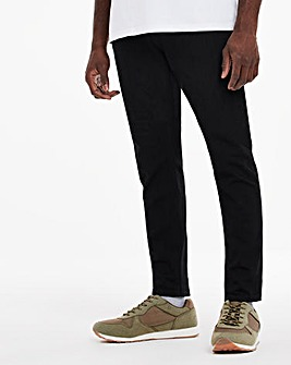 Black Tapered Fit Sustainable Jeans
