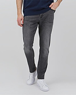 Grey Slim Fit Sustainable Jeans