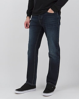 Darkwash Straight Fit Sustainable Jeans