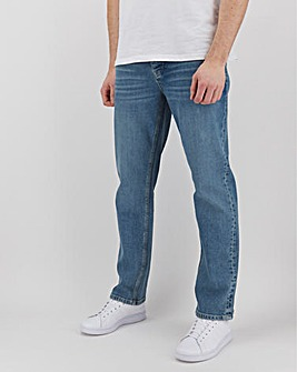 Stonewash Straight Fit Sustainable Jeans