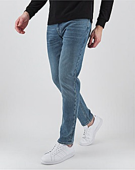 Stonewash Slim Fit Sustainable Jeans