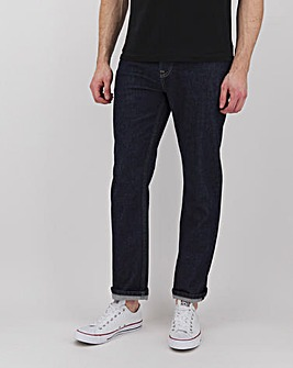Raw Straight Fit Sustainable Jeans