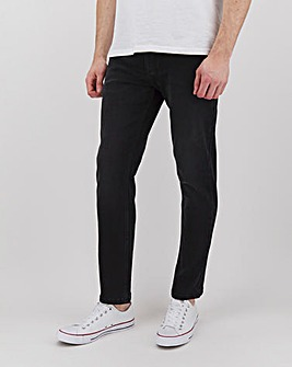 Blackwash Slim Fit Stretch Jeans