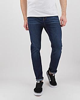 Darkwash Skinny Fit Stretch Jeans