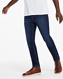 Darkwash Skinny Fit Stretch Jeans