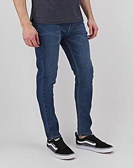 Stonewash Skinny Fit Stretch Jeans