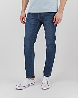 Stonewash Slim Fit Stretch Jeans