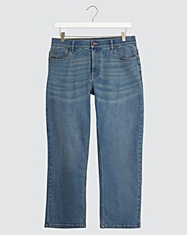 Tint Wash Loose Fit Stretch Jeans
