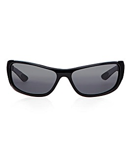 Waterfall Black Sunglasses