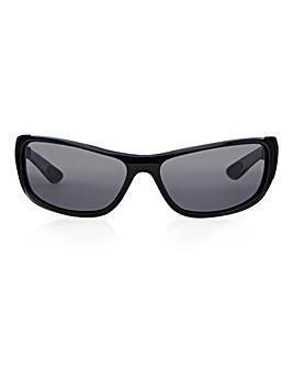 Waterfall Black Sunglasses