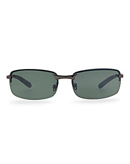 Rhodes Black Sunglasses