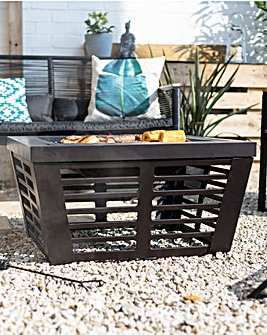 La Hacienda Elda Large Deep Bowl Firepit