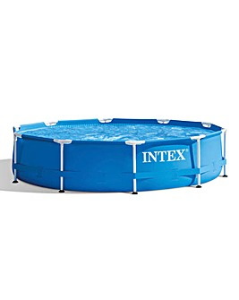 Intex 10'' Metal Frame Pool Set