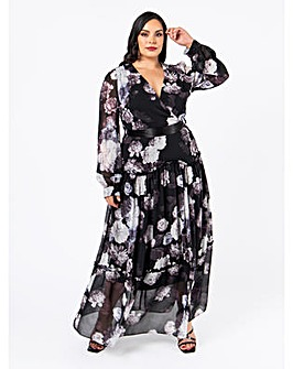Lovedrobe Luxe Floral Maxi Dress