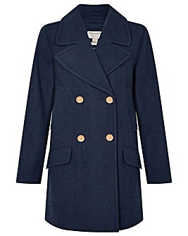 Monsoon Annabelle Pea Coat