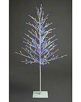 Multi Pastel 3D Twig Tree 120cm