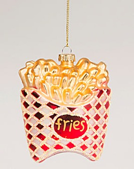 French Fries Shaped Bauble