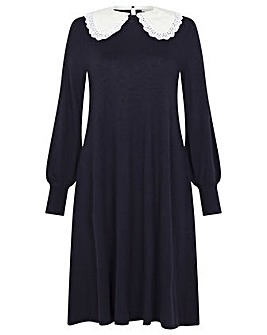 Monsoon Charlotte Collar Swing Dress