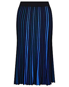 Monsoon Ceiros Colourblock Pleated Skirt