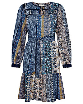 Monsoon Paisley Print Dress