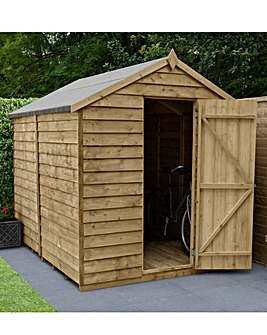 Forest 8 x 6 Apex Shed No Window with Installation