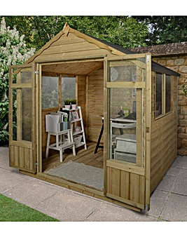 Oakley Summerhouse 7x7 with Installation