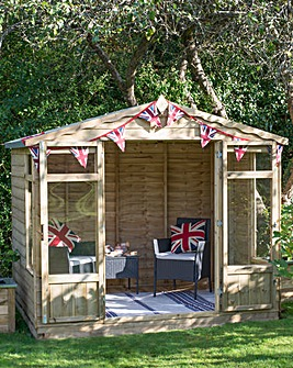 Oakley Summerhouse 8x6 with Installation