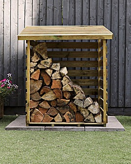 Mercia Pressure Treated Single Log Store