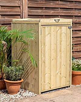 Mercia Premium Pressure Treated Single Bin Store