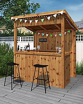 Mercia 6 x 4 Pressure Treated Garden Bar