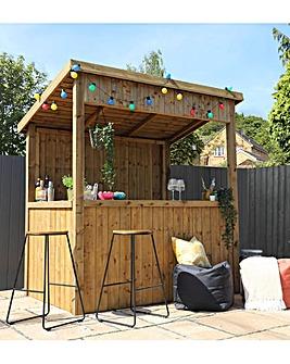 Mercia 6 x 4 Pressure Treated Garden Bar