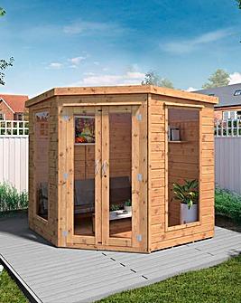 Mercia 7 x 7 Premium Corner Summerhouse