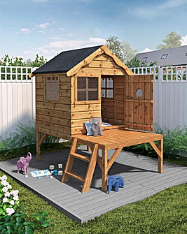 Mercia Snug Playhouse with Tower