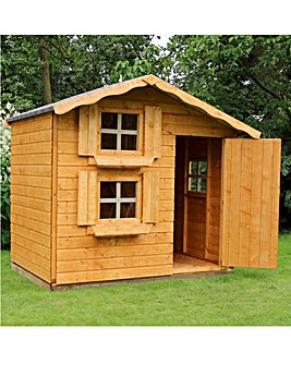 Mercia Double Storey Snowdrop Playhouse