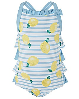 Monsoon Baby Lucie Lemon Swimsuit