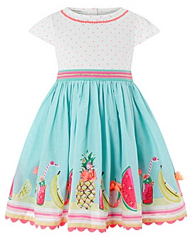 Monsoon Baby Tropical Mini 2In1 Dress