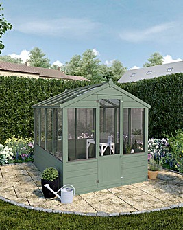 Mercia 8x6 Greenhouse Install+Painting