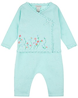 Monsoon Baby Flori Knitted Set