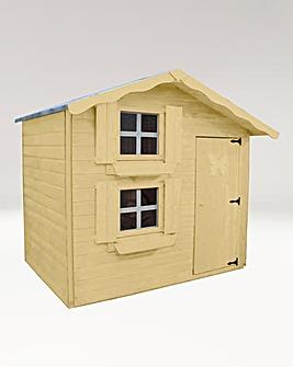 Mercia Double Storey Snowdrop Storey Playhouse + Install + Painting