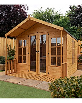 8 x 8 Premium Traditional Summerhouse