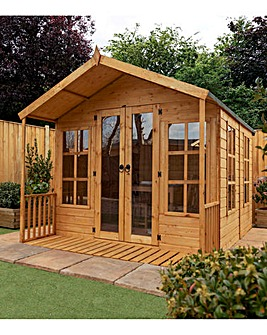 10 x 8 Premium Traditional Summerhouse