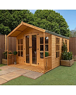 12 x 8 Premium Traditional Summerhouse
