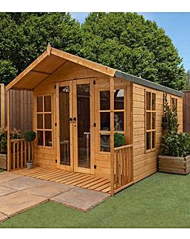 12 x 8 Premium Traditional Summerhouse