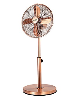 Pifco 12 Inch Copper Pedestal Fan