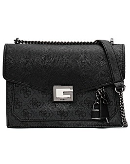 Guess Valy Convertible Logo Cross-Body Bag