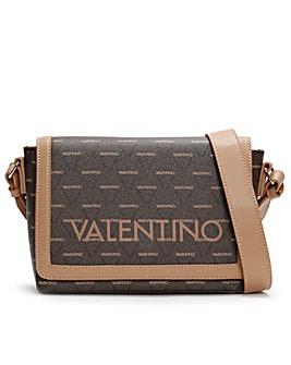 Valentino By Mario Valentino Liuto Logo Satchel Bag