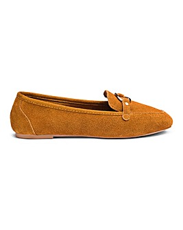 23d03e74632d Cassandra Suede Loafer Wide Fit
